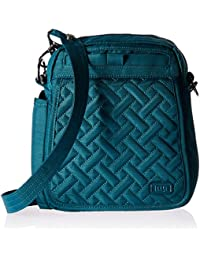 Lug Flapper Cross Body Bag, Brushed Teal Cross Body Bag