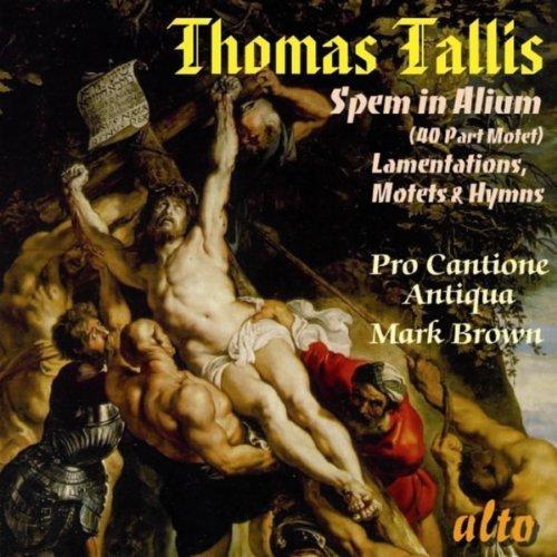 Preisvergleich Produktbild Thomas Tallis: Spem in Alium; Lamentations of Jeremiah; Motets & Hymns by MUSICAL CONCEPTS (2011-02-08)