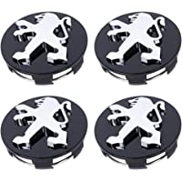 Yellow ZQTG 4pcs Car Wheel Center Hub Cap Stickers For Mercedes Benz Smart Fortwo 450 451 453 Forfour Yellow