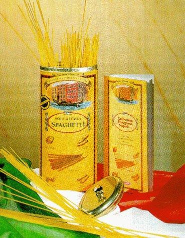 Die Spaghettidose, Vorratsdose m. Rezeptbuch u. Spaghetti