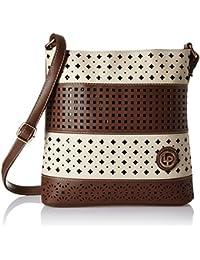 Lino Perros Women's Sling Bag (Brown) - B01N9NVK5N