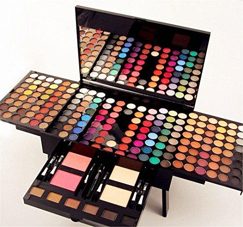 FantasyDay® Professionelle 180 Farben Lidschatten Palette Makeup Kit mit Concealer und Rouge - Ideal für Sowohl den Professionellen als auch Persönlichen Gebrauch