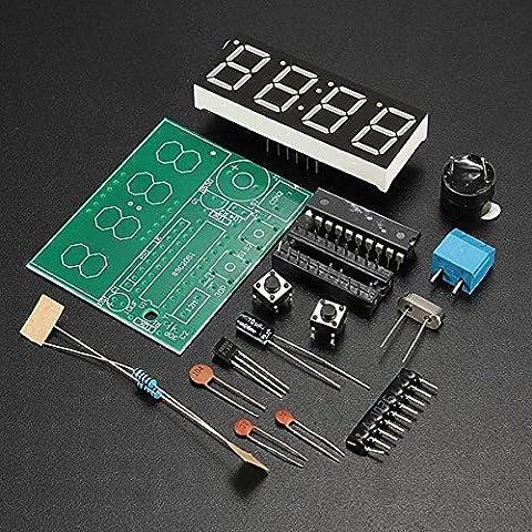 C51 4 Bits elektronische Uhr elektronische Production Suite