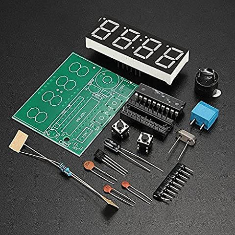 Horloge Kit - Kits C51 4 Bits production électronique horloge