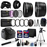 All In One Ultimate Accessory Kit For Nikon D7100 Digital SLR Camera