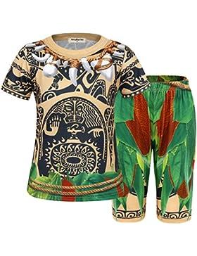 AmzBarley Maui Boys Pijamas PJS Sets Ropa de dormir para nino Ninos Pijamas de 1 a 10 anos