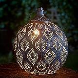 Smart Garden Garten Laterne - Kairo - Metall mit antik goldener Farbgestaltung, von Festive Lights