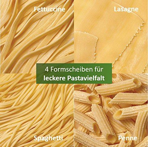 philips-hr2333-12-pastamaker-vollautomatisierte-nudelmaschine-mit-4-formscheiben-weiss-grau-4