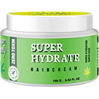 Super Smelly Natural Hydrating Hair Cream   Leave-In Hair Conditioning Cream   Medium Hold styling cream with organic…