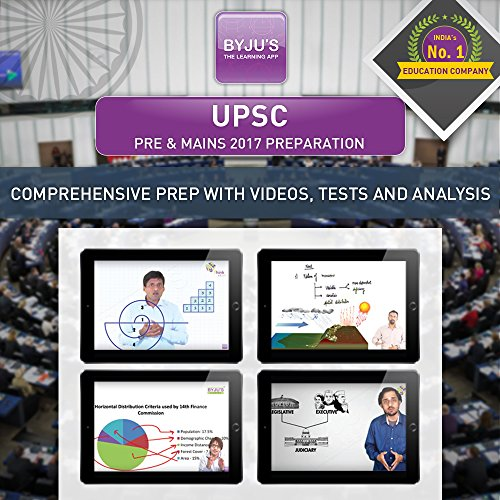 BYJUS UPSC Pre & Mains 2017 Preparation (Tablet)