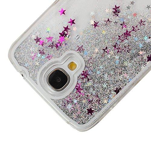 Voguecase® für Apple iPhone 6 Plus / 6s Plus (5,5 Zoll) , Flüssig Fließen (Harte Rückseite) Hybrid Hülle Schutzhülle Case Cover (Weinglas) + Gratis Universal Eingabestift Silber