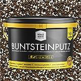 Buntsteinputz schwarz/braun/weiss 20kg