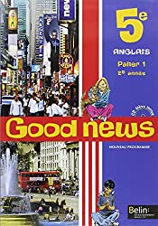 Anglais 5e Good news (1CD audio)