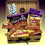 Cadbury Crunchie Chocolate Lovers Treasure Hamper Gift Box...
