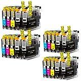 Liondo 20 Tintenpatronen kompatibel zu Brother LC223XL DCPJ4120DW MFCJ4420