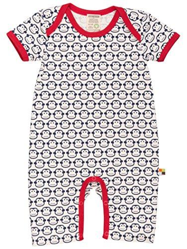 loud + proud Unisex Baby Spieler Druck, Blau (Navy Ny), 68 (Herstellergröße: 62/68)