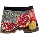 Winne Bag Pomegranate Lemon The Wooden Boxer Briefs Men's Underwear Boystretch Breathable Low Rise Trunks XL