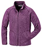 Pinewood Kinder Gabriella Kids Fleece Jacke, Lila Melange, 128