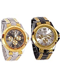 Maan International Combo of 2 Analogue Watches For Men