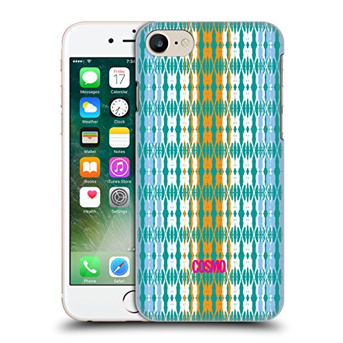 Official Cosmopolitan Multicolour 2 Boho Patterns Hard Back Case for Apple iPhone X Blue Green