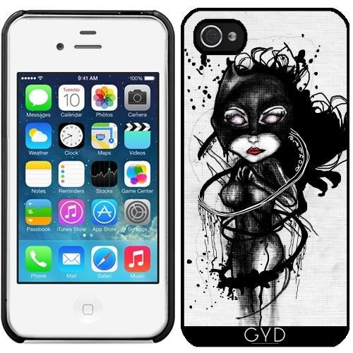 (DesignedByIndependentArtists Hülle für iPhone 4/4S - Krallen Lynx by Rouble Rust)
