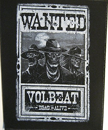 Volbeat Wanted Toppe schiena standard