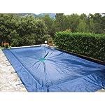 07428 Provence Outillage-Telone rettangolare per Piscine, 8 x 14 m