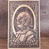 Creature From The Black Lagoon - Wood Print Laser Engraved, Classic Horror Movie, Old Film Lover Gift - 29 x 19 cm