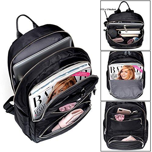 Imagen de uto  para laptop oxford impermeable tela nylon unisex  escuela de la universidad bookbag bolsa de viaje bolsa de hombro alternativa
