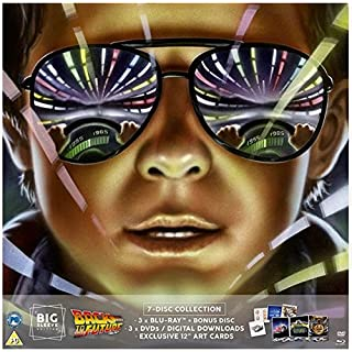 Back To The Future Trilogy Blu-ray BIG SLEEVE EDITION. Includes 4 Exclusive 12