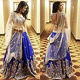 shreenathji Women's banglori silk laheng...
