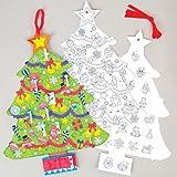 Adventskalender Weihnachtsbaum – Kreatives weihnachtliches Bastelmaterial Zum Basteln und Dekorieren (3 Stück)
