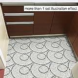 ALLDOLWEGE Persönlicher Stil Schlafzimmer Böden mit Marmor stil Fußboden Flur Bad Bad mit Steinboden - Stil.