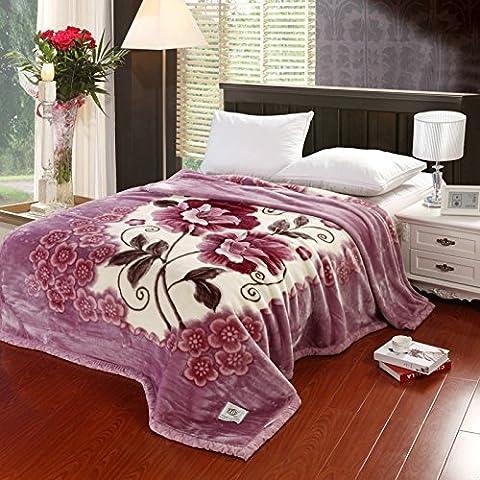bduk de Raschel manta clásico contemporáneo habitaciones Quarters Ultra suave mantas de arena