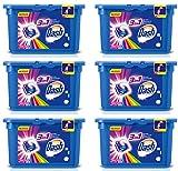 90ist Dash Pods 3in 1Sichtschutz Farbe Tabs Caps Waschmittel für Waschmaschine