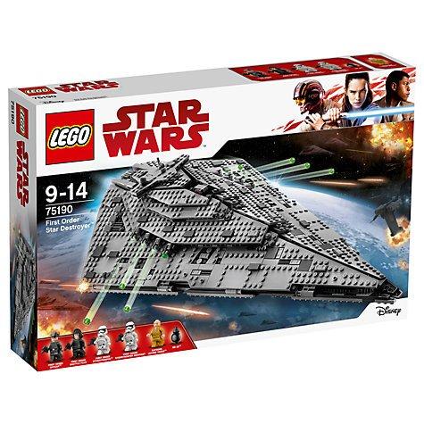 LEGO Star Wars Die letzten Jedi 75190Erste Bestellung Star Destroyer