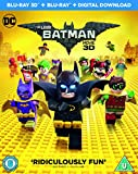 The LEGO Batman Movie [Blu-ray 3D + Blu-ray + Digital Download] [2017]