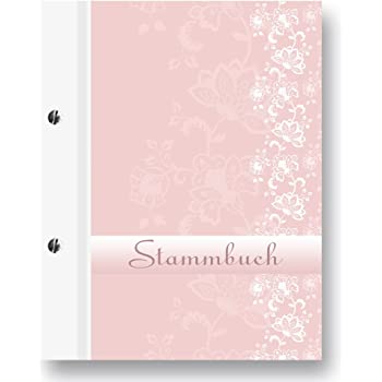 Stammbuch Comical A5 rosa Familienstammbuch Stammbuch der Familie Dokumente
