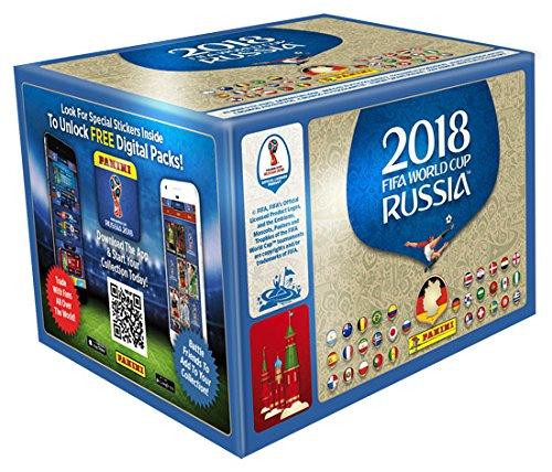 Panini WM Russia 2018-Design 1pantalla 100bolsas cada bolsa contiene 5cromos