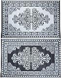 Esschert Design Outdoor Teppich (Perser - Muster, OC11)
