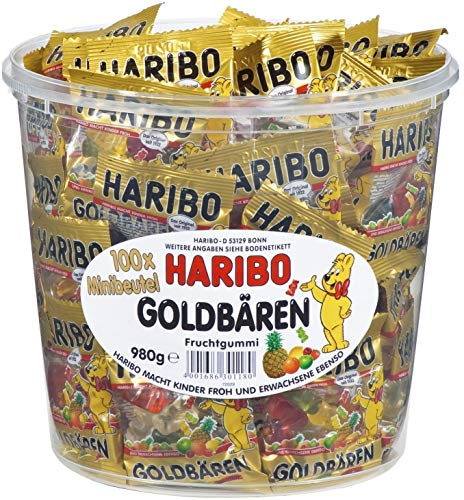 HARIBO Lot de 3 Boites de 100 Sa...