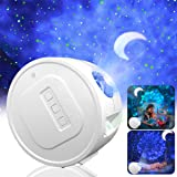 Star Projector, Ganeed Starry Sky Projector,3 in 1 Ocean Wave Laser Projector w/LED Nebula Cloud& Moon, Galaxy Timer Night Li