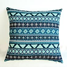 Lydealife 18 x 45,72 cm Cotton Linen manta decorativa Funda de almohada Funda de