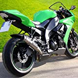 Auspuff Bodis GP1 Slip-On Edelstahl/Full-Titan Kawasaki ZX-6R Ninja 600 ZX600R