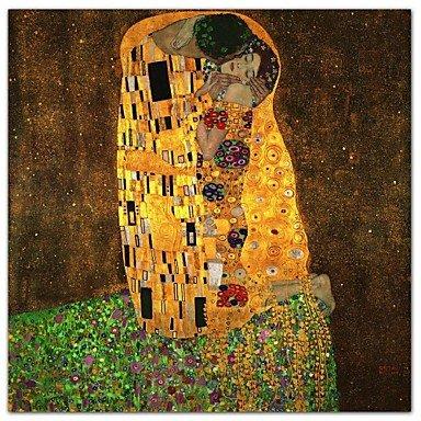 Piteng™ Le baiser par Gustav Klimt célèbre impression d'art , 28
