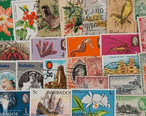 Goldhahn 25 Barbados Briefmarken für Sammler