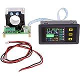 Yeeco Digital Dc Voltmeter Amperemeter Multimeter 10 90v 0 100a Lcd Farbe Anzeigen Stromspannung Ampere Leistung Watt Coulomb Kapazität Zeit Meter Prüfer Testen Detektor Mit Hallsensor Beleuchtung