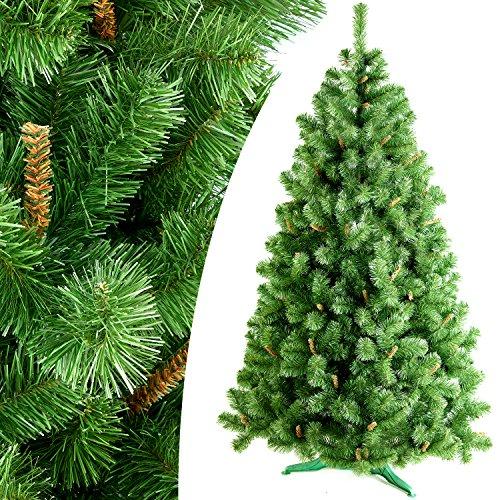 DecoKing Künstlicher Weihnachtsbaum Tannenbaum Christbaum Tanne Oliwia Weihnachtsdeko