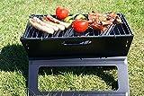 DRULINE Sale Klappgrill Campinggrill Tischgrill Picknick Grill Laptopgrill Faltgrill BBQ