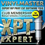 Graphic Design Rip Print Schnitt Software vinylmaster XPT-Abonnement (1. Monat) entriegelt 2 Pcs